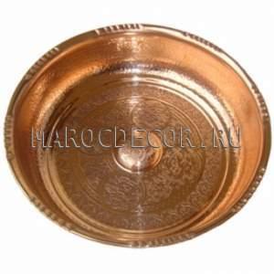 Медная чаша для омовения арт.CR-03, для хамама, бани