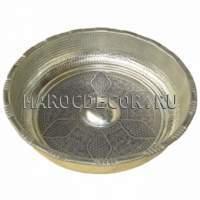 Медная чаша для омовения арт.CR-02