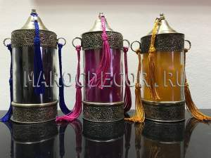 Марокканская ароматизированная свеча арт.BG-48, ручная работа