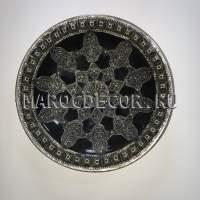 Декоративная тарелка в восточном стиле арт.AS-73