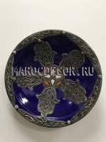 Марокканская декоративная тарелка арт.AS-70