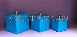 Керамические шкатулки из Марокко арт.TDL-24, ручная работа