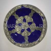 Марокканская декоративная тарелка арт.AS-74