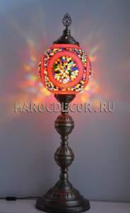 Напольная лампа торшер в восточном стиле арт.FM-S-MS130