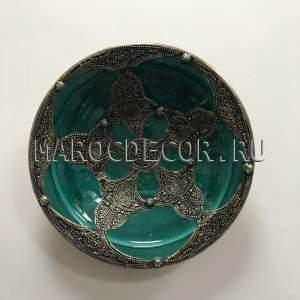 Марокканская декоративная тарелка арт.AS-72