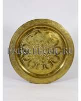 Марокканский медный поднос арт.PL-12