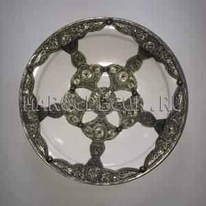 Марокканская декоративная тарелка арт.AS-80