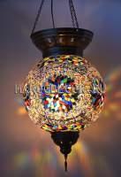 Мозаичная подвесная лампа арт.HM-S-AA130