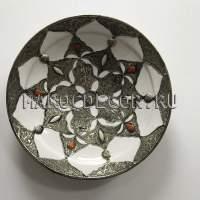 Декоративная тарелка в восточном стиле арт.AS-71