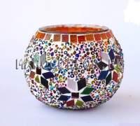 Восточный мозаичный подсвечник арт. BG-480