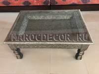 Марокканский прямоугольный столик