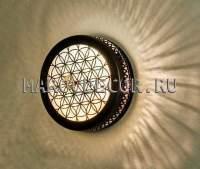 Восточный светильник для хамама арт.WY-384-30 диаметр 30см