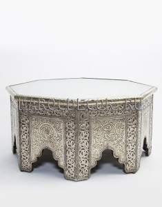 Марокканский столик c чеканкой арт.TB-104