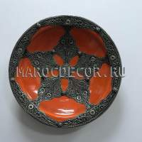Марокканская декоративная тарелка арт.AS-78
