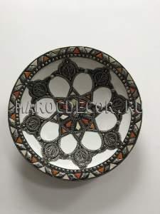 Марокканская декоративная тарелка арт.AS-68, уникальная работа