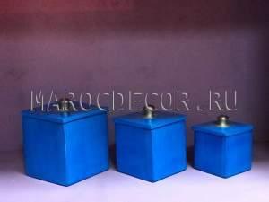 Марокканские керамические шкатулки арт.TDL-21, ручная работа