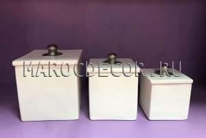 Набор марокканских шкатулок арт.TDL-22