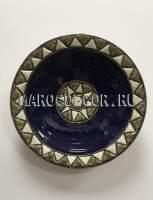Марокканская декоративная тарелка арт.AS-66