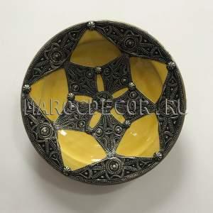 Марокканская декоративная тарелка арт.AS-79