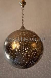 Марокканская люстра-шар