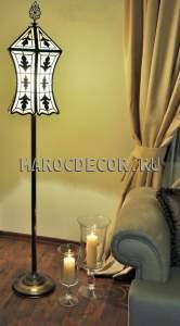 Напольная лампа торшер в восточном стиле арт.LY-378-40