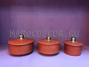 Набор марокканских шкатулок арт.TDL-19, ручная работа