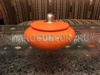 Марокканская керамическая шкатулка арт.TDL-32, ручная работа
