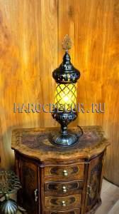 Восточная лампа с чеканкой арт.T-113-2Y-10
