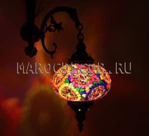 Восточный мозаичный светильник арт. WM-012T/1