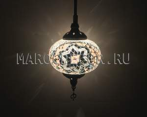 Мозаичный турецкий светильник арт.НМ-017Т/1