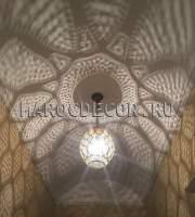 Марокканский подвесной светильник арт.Lant-98, ручная работа