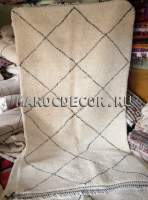 Марокканский шерстяной ковер с ворсом 280х165 см арт.ВR-23