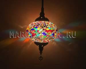 Мозаичный турецкий светильник арт.НМ-017Т/2