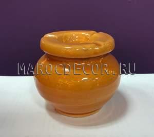 Марокканская керамическая пепельница арт.Сеn-19