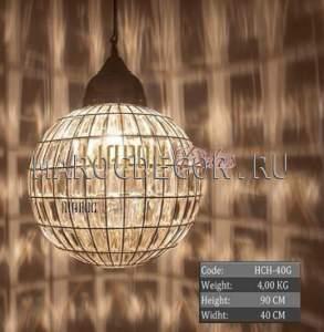 Подвесной шар в восточном стиле арт.НСН-40G