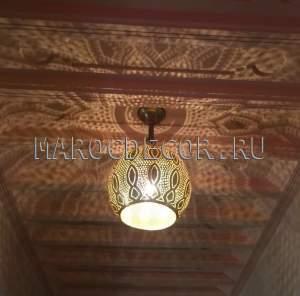 Марокканский подвесной светильник арт.Lant-95