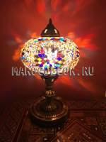 Восточная лампа мозаичная арт. KM-23/k