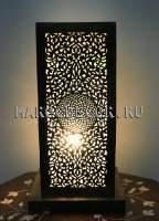 Марокканская ажурная лампа, ручная работа