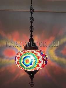 Турецкий мозаичный светильник арт.НМ-035Т/в, магазин восточных светильников МАРОКДЕКОР