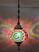 Подвесной светильник арт.HМ-035Т/v, магазин восточных светильников МАРОКДЕКОР