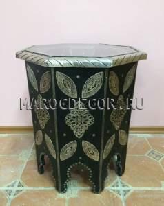 Марокканский кофейный столик арт.TB-80, ручная работа