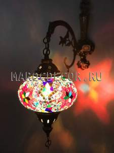 Восточный светильник из турецкой мозаики арт.WM-015T/3L,из Турции