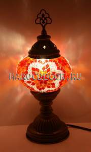Турецкая мозаичная лампа арт.ТМ-S-012/1к