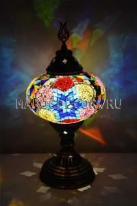 Восточная мозаичная лампа арт.TM-015/з
