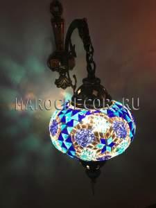 Турецкий мозаичный светильник арт. WM-015T/3г