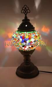 Турецкая мозаичная лампа арт.ТМ-S-012/1у