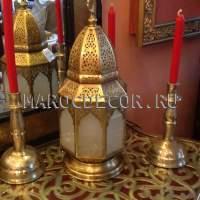 Марокканская лампа-фонарь арт.Lamp-93, ручная работа