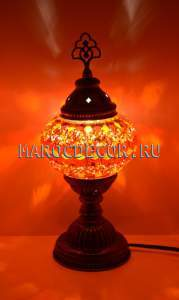 Турецкая мозаичная лампа арт.ТМ-S-012/1р