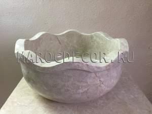 Мраморная курна для хамама арт.КР-03