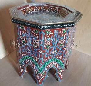 Марокканский кофейный столик арт.TB-78